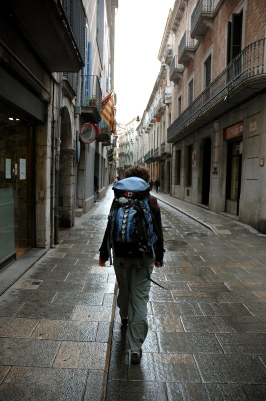 Backpacking in Girona, Spain