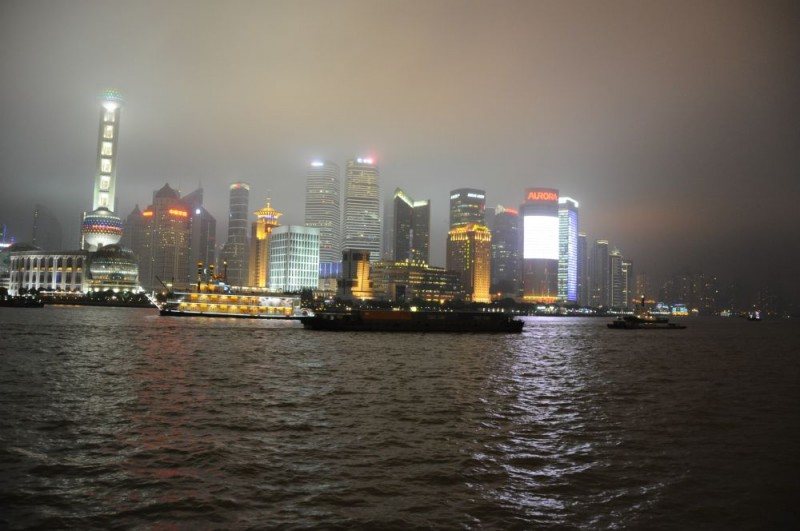 The Pudong Skyline